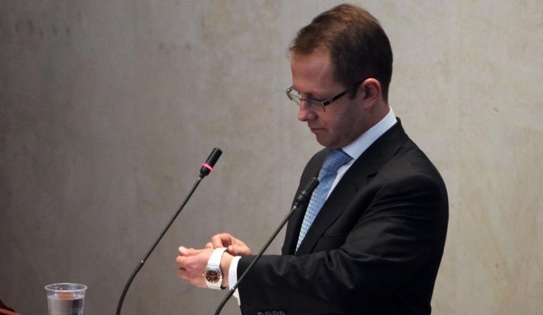 Andrés Felipe Arias, ex ministro de Agricultura, procesado por el caso Agro Ingreso Seguro.