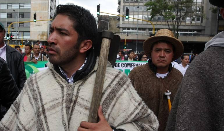 Organizaciones campesinas rechazan estrategia del Gobierno sobre deforestación