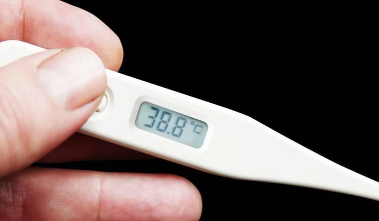 Griffin se escondía de su esposa para tomarse la temperatura a lo largo del día.