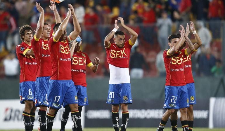 Unión Española 1-1 The Strongest Copa Libertadores: Unión Española rescata un agónico empate en casa ante The Strongest