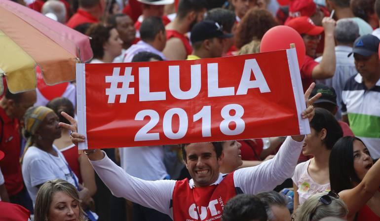 Candidatura para la presidencia de Brasil Lula: Lula prepara otra candidatura pese a los cargos en su contra