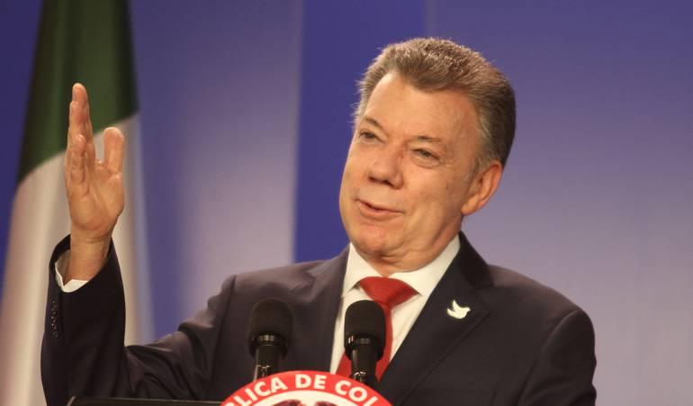 Juan Manuel Santos Calderón, presidente de Colombia