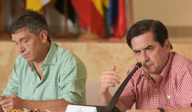 """Reacciones a la llegada de todos los frentes de las Farc a las zonas Veredales: """"Estamos frente a un hecho histórico"""", ministro del interior"""
