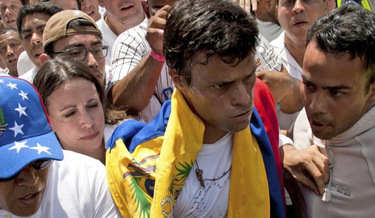 """Leopoldo López llama a """"rebelión"""" electoral en Venezuela"""