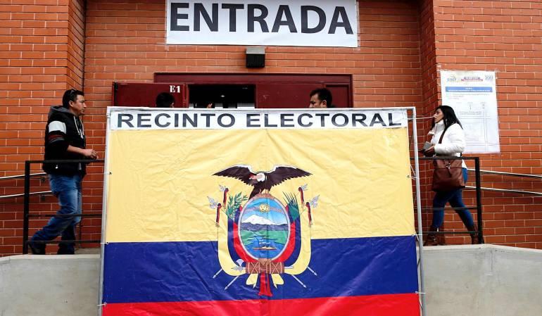 Ecuador elige al sucesor de Correa.