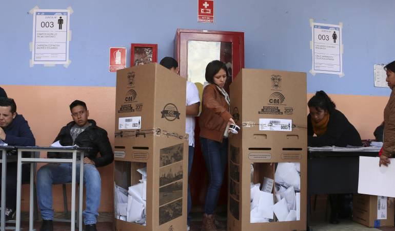 Las urnas se cerraron y ahora comienza el proceso de conteo de votos para saber si es necesaria la segunda vuelta