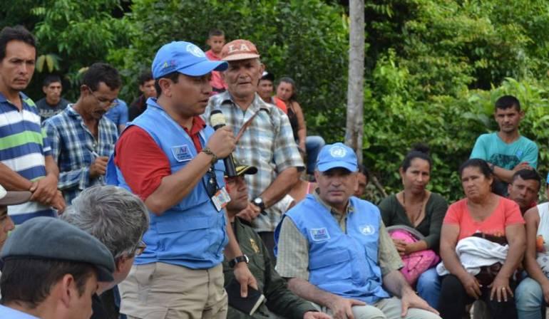 Aplausos y reparos de la ONU frente al proceso de desarme de las FARC