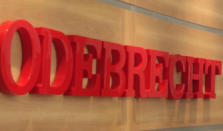 Logo de la empresa brasileña Odebrecht