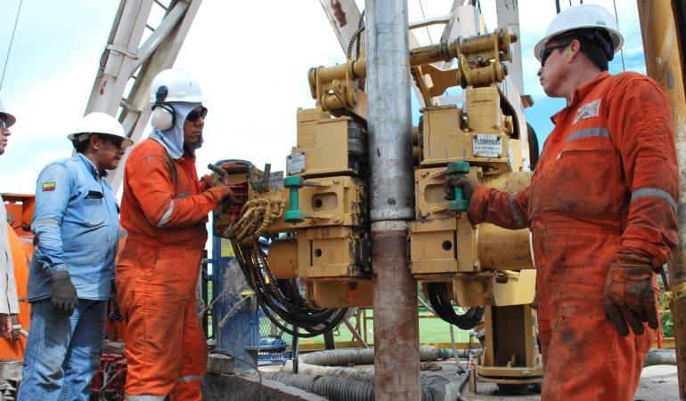 Repunte en la producción petrolera de Colombia