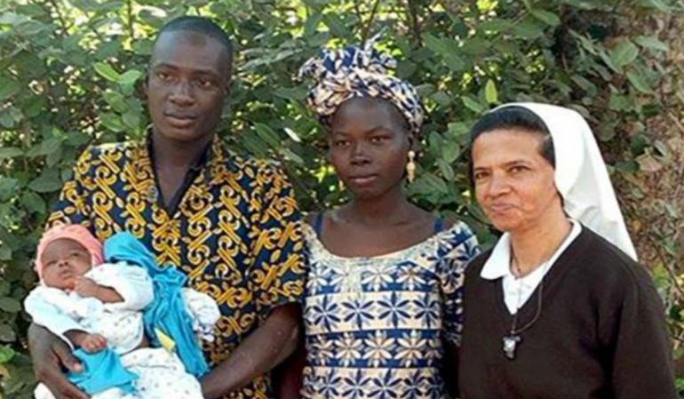 Gloria Cecilia Narváez, perteneciente a la Congregación de las Hermanas Franciscanas de María Inmaculada quien fue raptada el martes 7 de febrero al sur de Malí por un grupo de hombres armados.