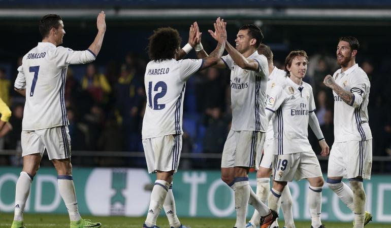 Real Madrid Villarreal: Real Madrid remonta al Villarreal en un vibrante partido