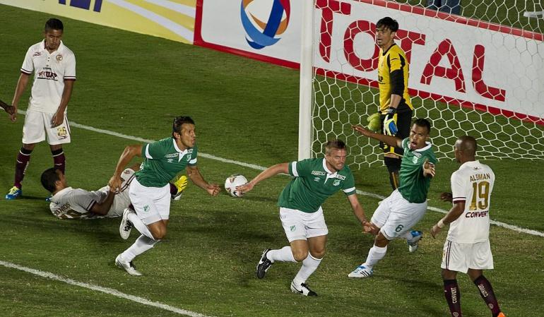 Deportivo Cali Cristian Nasuti: Nasuti fue la figura en el último triunfo de Cali por Copa Sudamericana