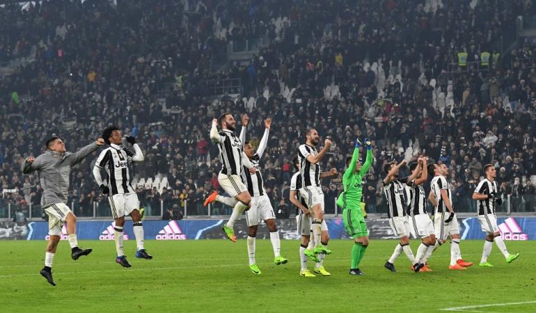 Juventus 3-1 Napoli Cuadrado: Cuadrado actuó 45 minutos en la remontada de Juventus sobre Napoli