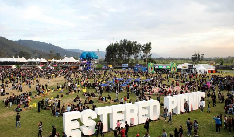 Festival Estéreo Picnic 2015.