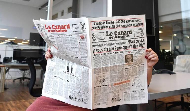 Desde sus orígenes, Le Canard Enchaîné se asoció al ideario de la izquierda.