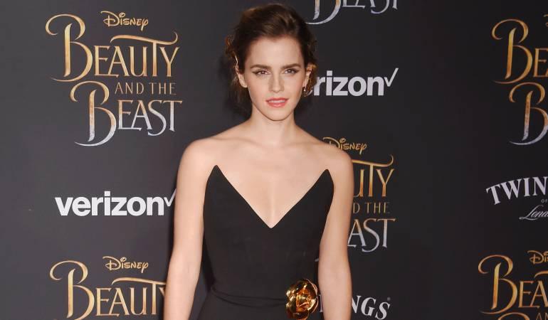 Actriz británica Emma Watson.