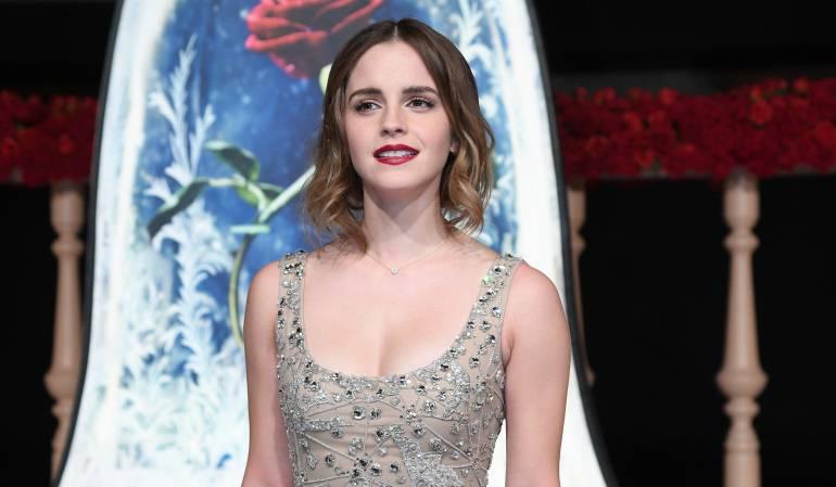 La actriz británica Emma Watson.