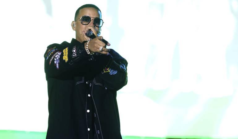 El reguetonero Daddy Yankee.