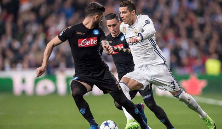 Napoli Vs. Real Madrid Liga de Campeones: Napoli Vs. Real Madrid, octavos de final Liga de Campeones