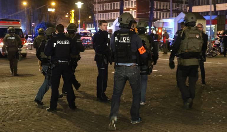 Emergencia por ataque con hacha en Alemania