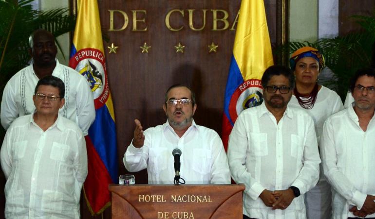 El máximo líder de las FARC, alias 'Timochenko', anunció el cese el fuego y de hostilidades.