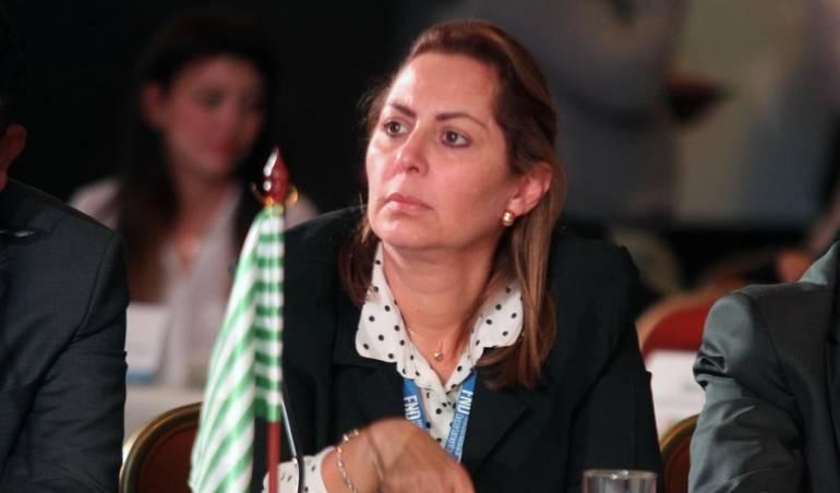 Marcela Amaya, gobernadora de Meta