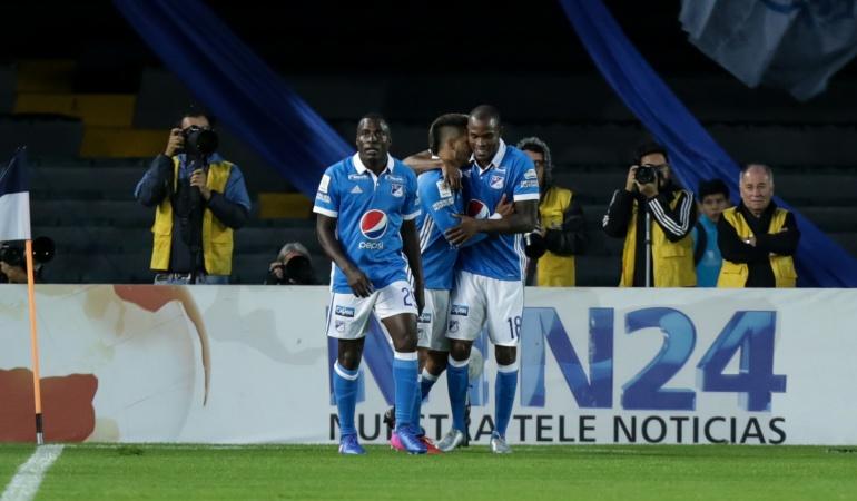 Millonarios 3-0 América: Noche mágica: Millonarios golea a América en El Campín