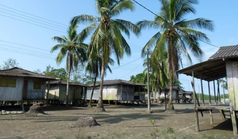 Zona de conflicto en Chocó.