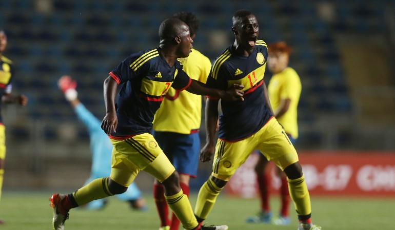 Selección Colombia Sub - 17 Sudamericano: Colombia empata con Venezuela en la tercera fecha del hexagonal