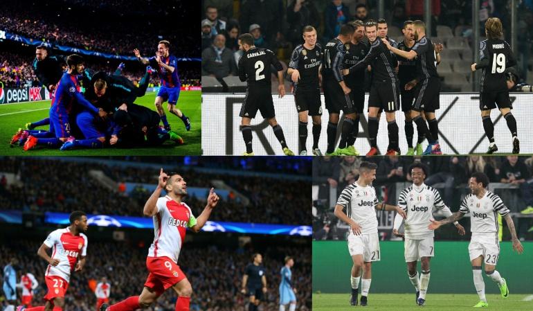 Ocho equipos clasificados Liga de Campeones: Conozca los clasificados a los cuartos de final de la Liga de Campeones
