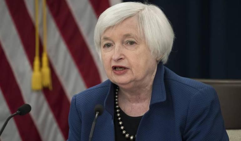 Presidenta de la Reserva Federal de Estados Unidos, Janet Yellen