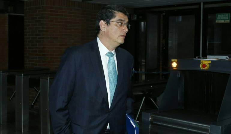 Alejandri Jiménez, ex presidente del Banco Agrario