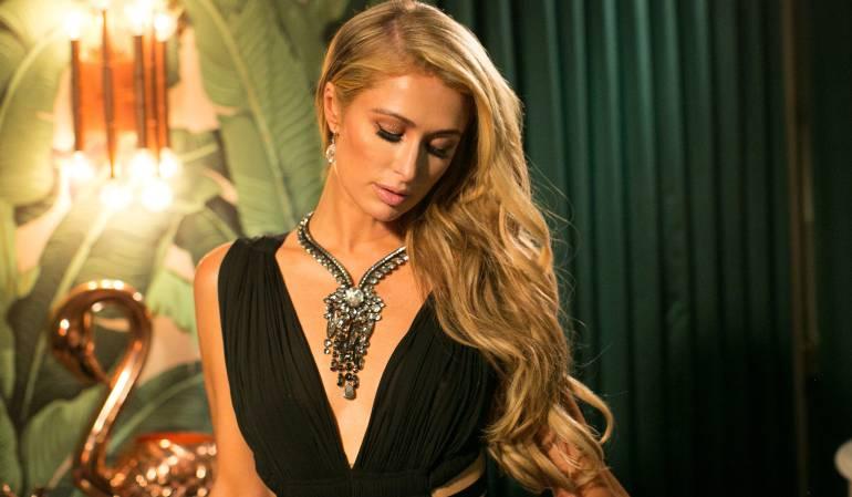 La modelo y empresaria Paris Hilton.