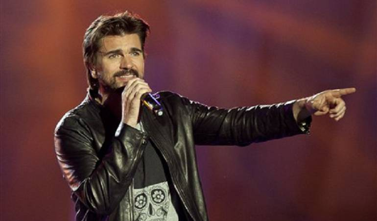 Juanes, cantante colombiano.