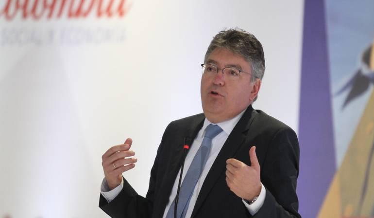 Mauricio Cárdenas, ministro de Hacienda