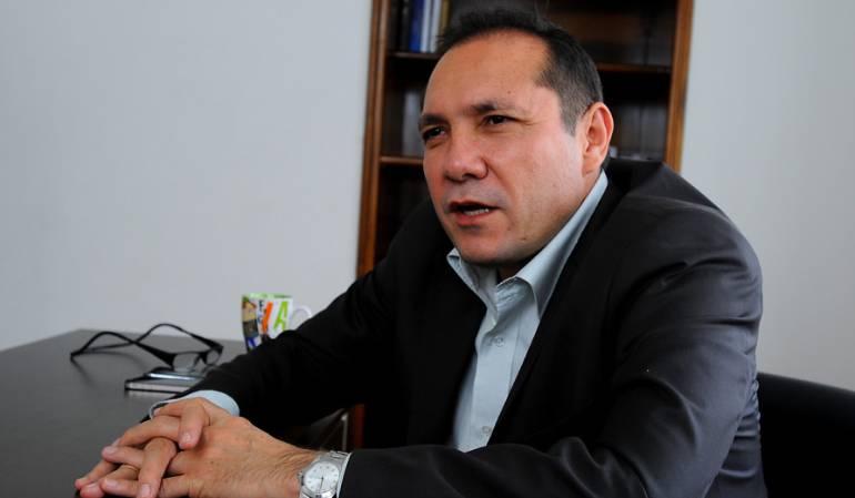 Antonio Sanguino presidente de Alianza Verde