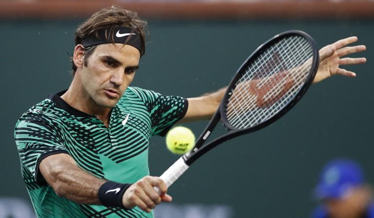 Roger Federer: Sin jugar, Federer logra su clasificación a semifinales de Indian Wells