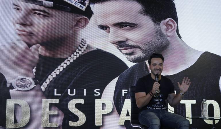 Lanzamiento de la canción 'Despacito', Luis Fonsi.