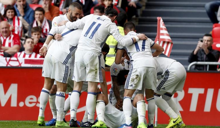 Bilbao 1-2 Real Madrid Liga Santander: Real Madrid rompe la fortaleza del Bilbao y defiende con firmeza su liderato