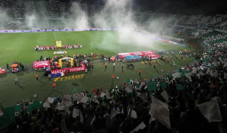 Nacional 3-1 Medellín: Nacional se quedó con el clásico antioqueño 293 de la Liga