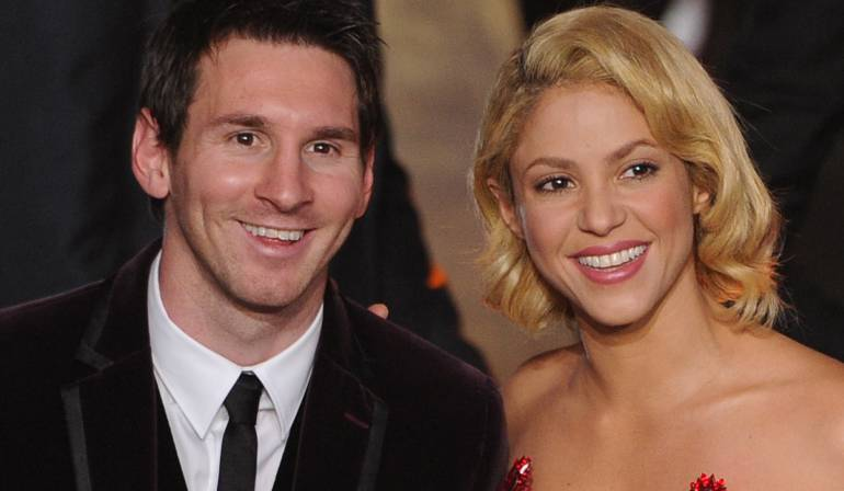 Messi y Shakira