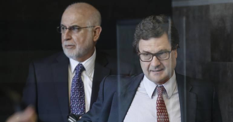 Luis Fernando Andrade, director de la ANI se presentó en entrevista ante la Fiscalía por el caso de Odebrecht.