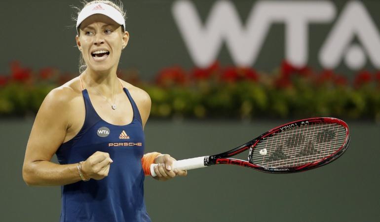 Kerber número uno del mundo: La alemana Kerber vuelve a ser la número uno del mundo en el tenis femenino