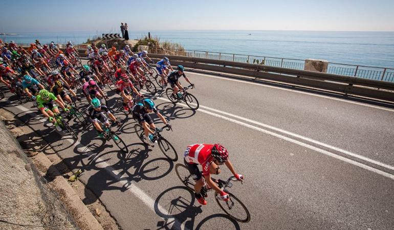 Vuelta a Cataluña: Juan Molano, mejor colombiano en primera etapa de la Vuelta a Cataluña