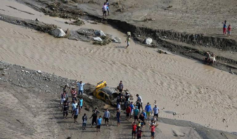 Emergencia Perú: Más de 160 colombianos afectados por emergencias en Perú: Cancillería