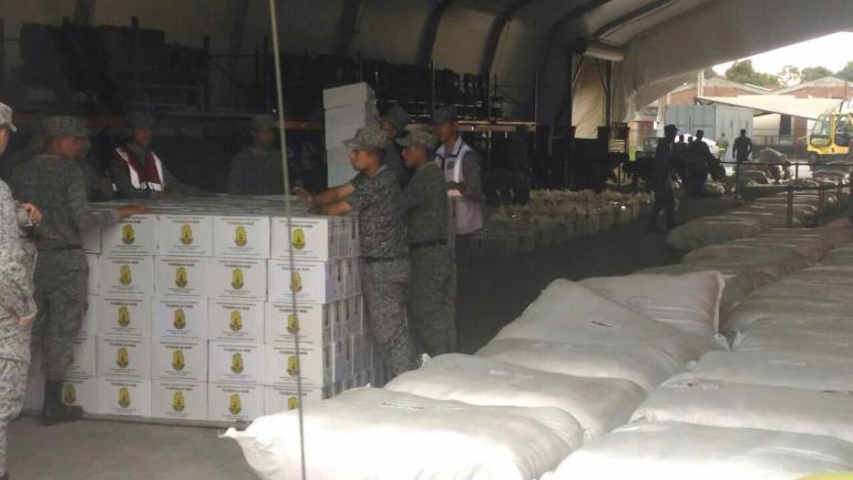 Inundaciones en Perú: Colombia envía a Perú 30 toneladas de ayuda humanitaria