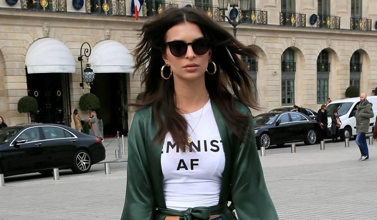 La modelo Emily Ratajkowski.