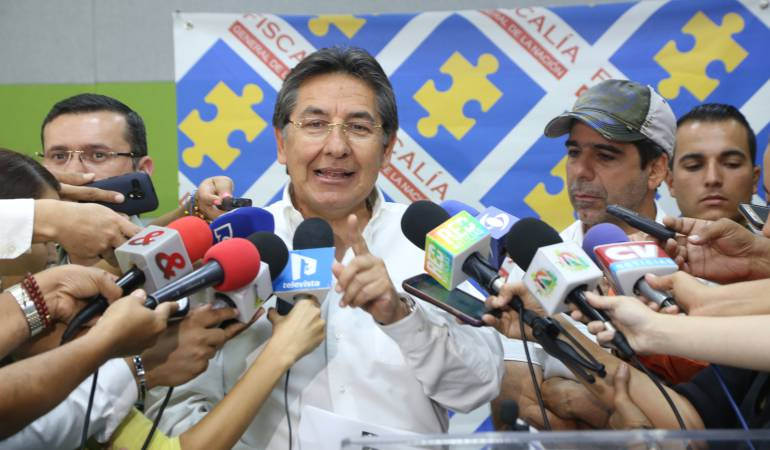Fiscal General Néstor Humberto Martínez.