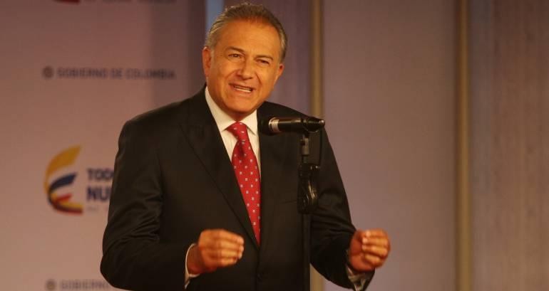 Óscar Naranjo es el nuevo vicepresidente de Colombia