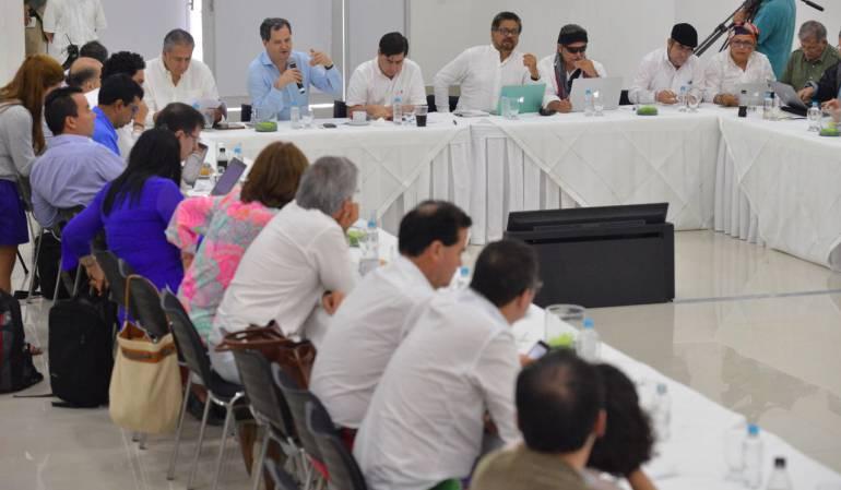 Proceso paz: Gobierno y Farc ratifican que se mantiene el cronograma del día D+180